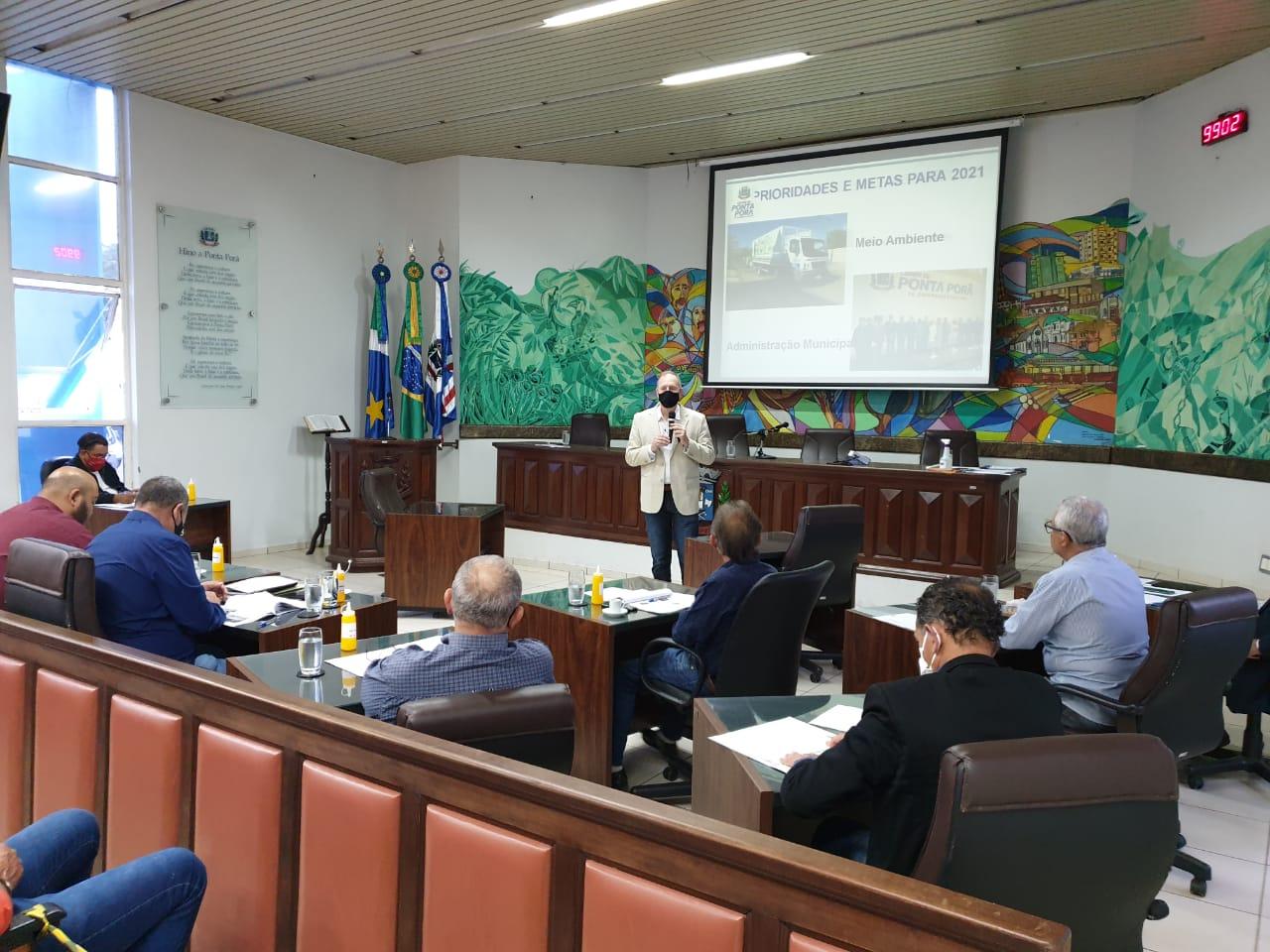 Câmara Municipal iniciou debates sobre a Lei que vai nortear orçamento de 2021