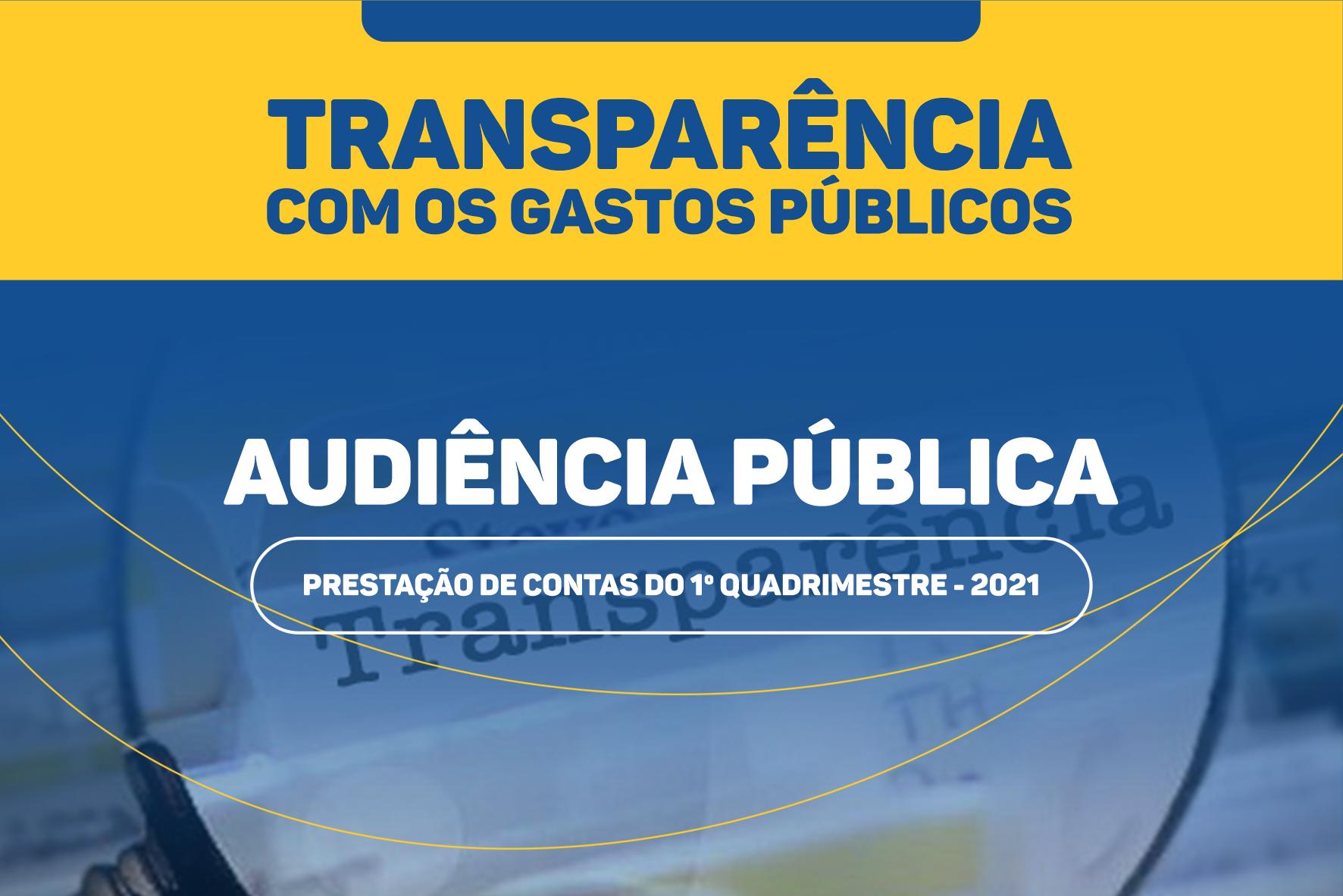 Câmara Municipal vai promover audiência pública de prestação de contas nesta 5ª feira