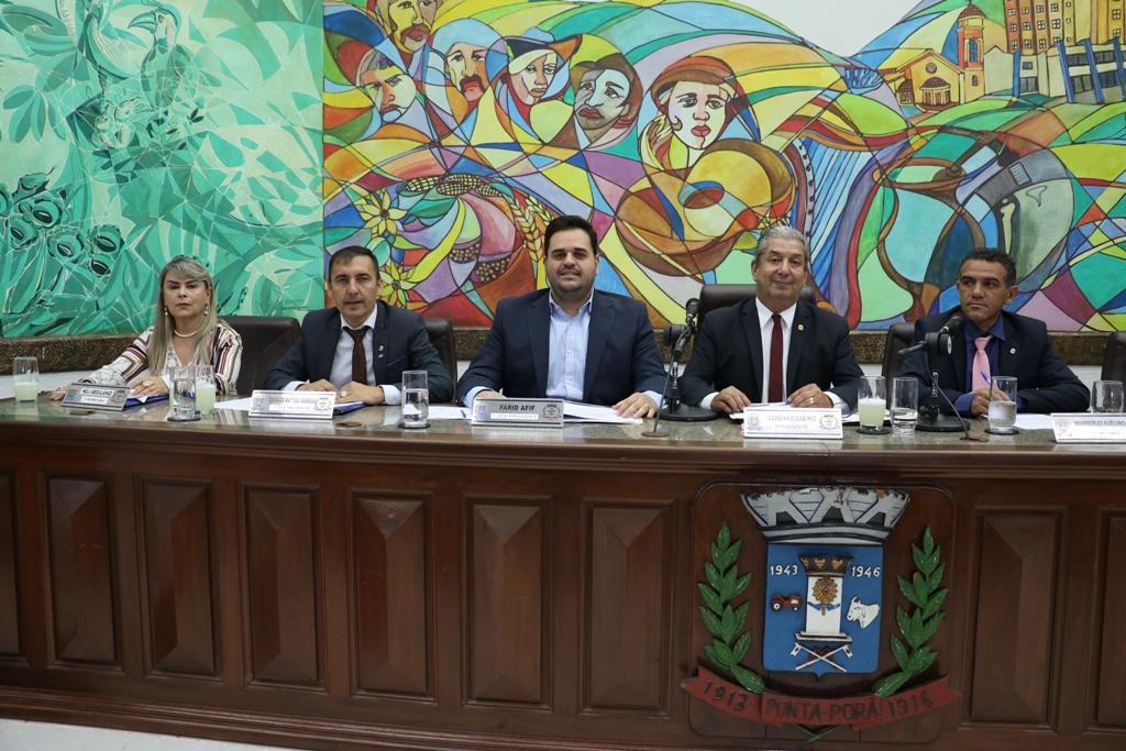 Vereadores aprovam mudanças para 2020 na Câmara Municipal de Ponta Porã