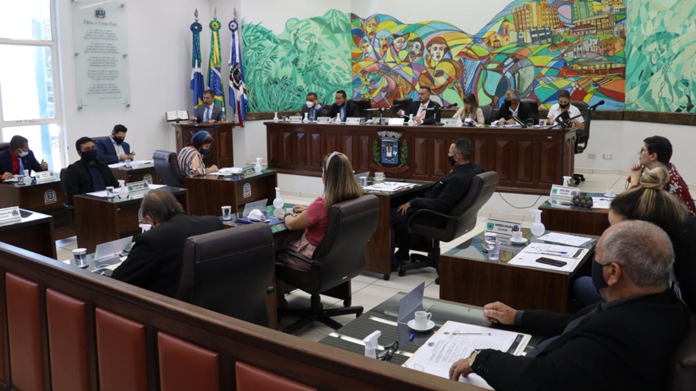 Investimentos na Saúde marcaram debates na sessão ordinária da Câmara Municipal