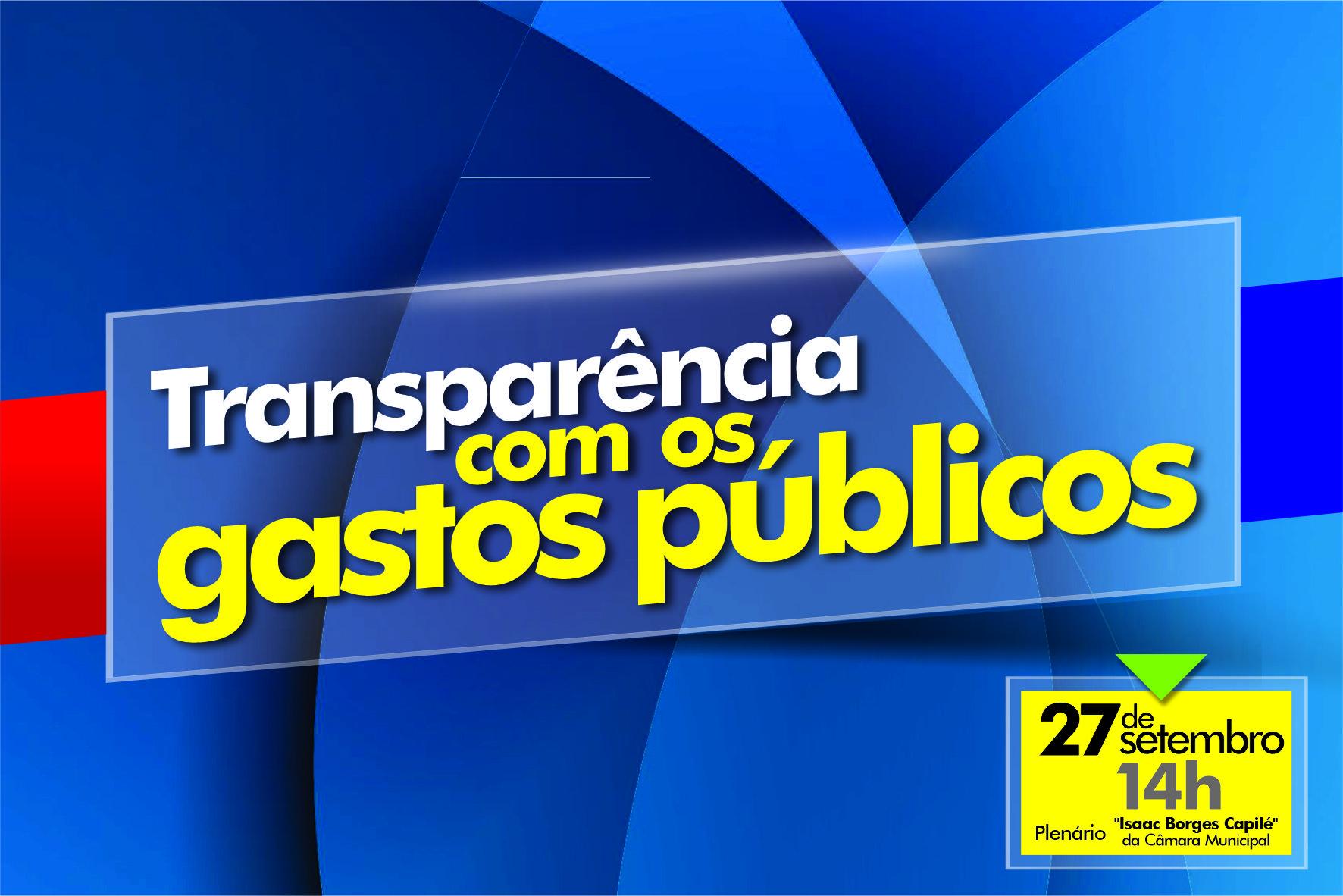 Câmara de Ponta Porã realiza audiência de prestação de contas nesta sexta-feira
