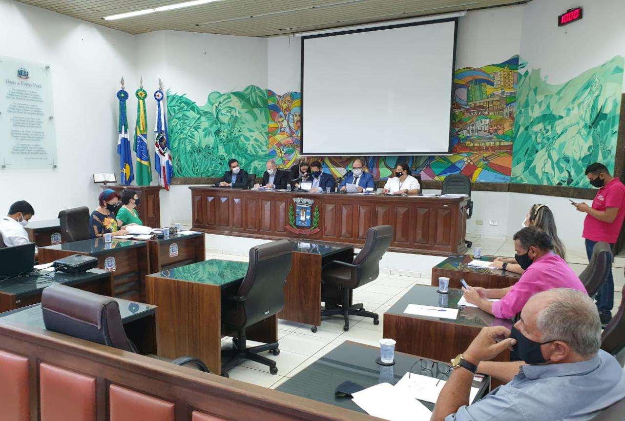 Câmara Municipal de Ponta Porã fechou 2020 com contas pagas e devolvendo dinheiro ao Executivo