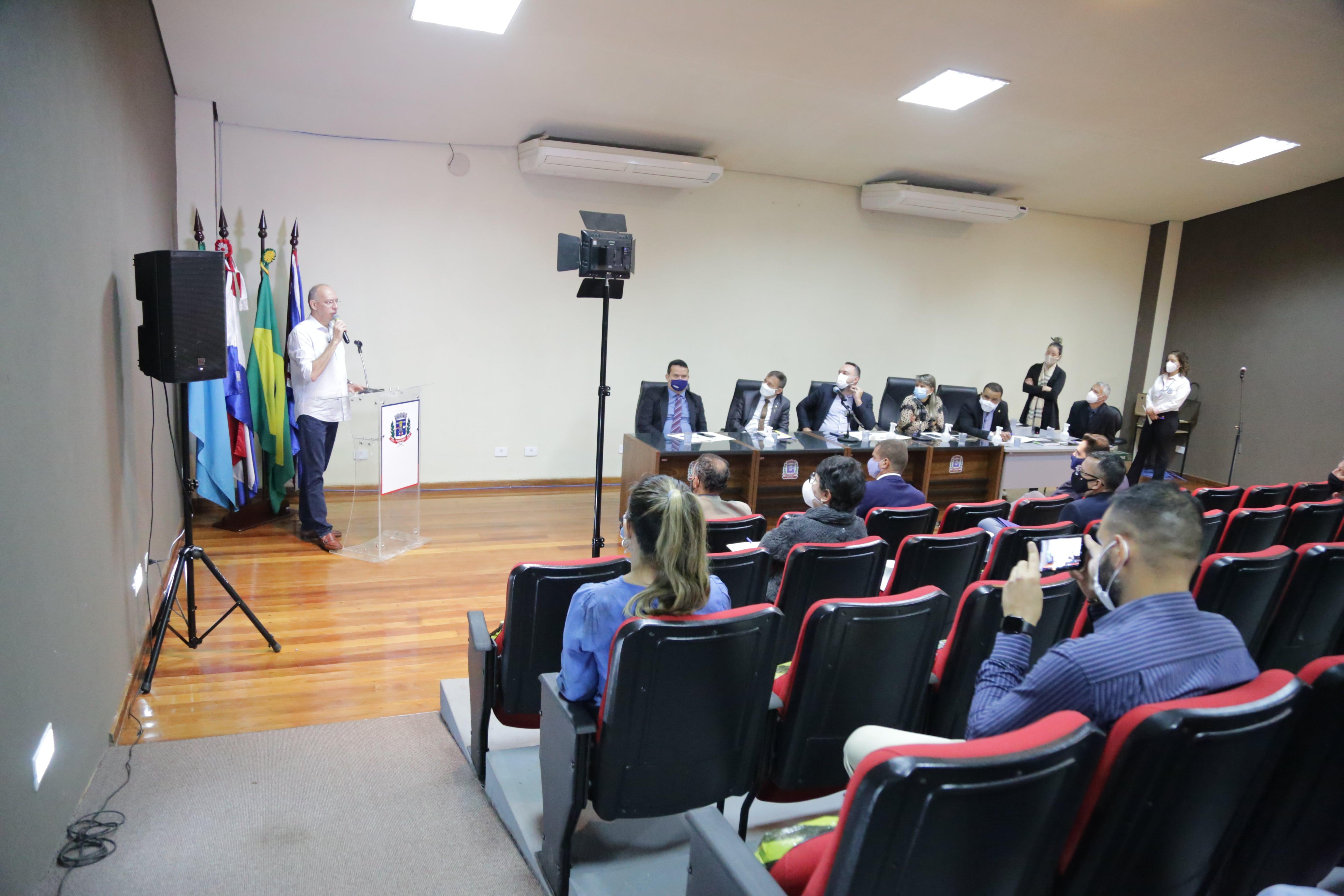 Prefeito agradece apoio dos vereadores na viabilização de R$ 40 milhões para obras em Ponta Porã