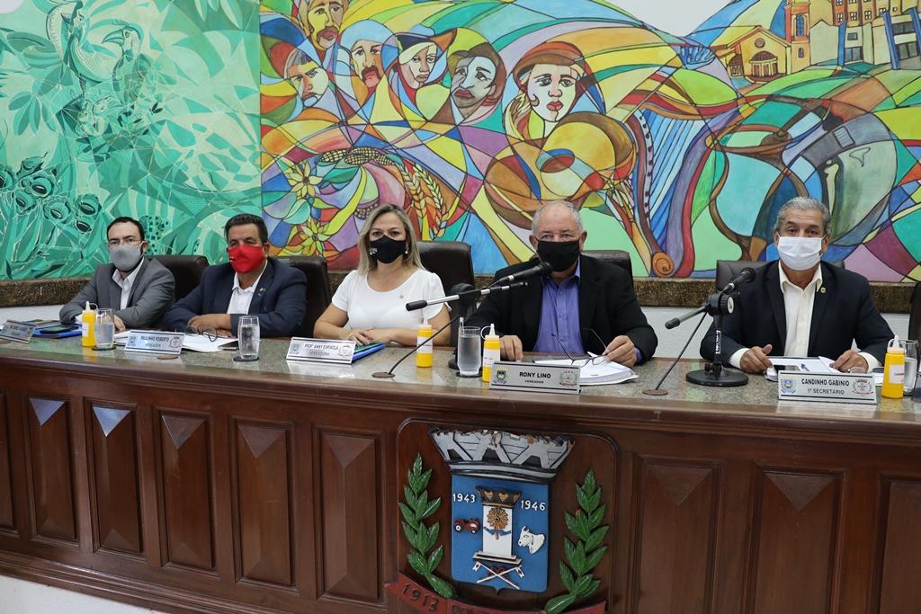 Vereadores aprovam projeto que altera Plano de Cargos do Poder Legislativo Municipal
