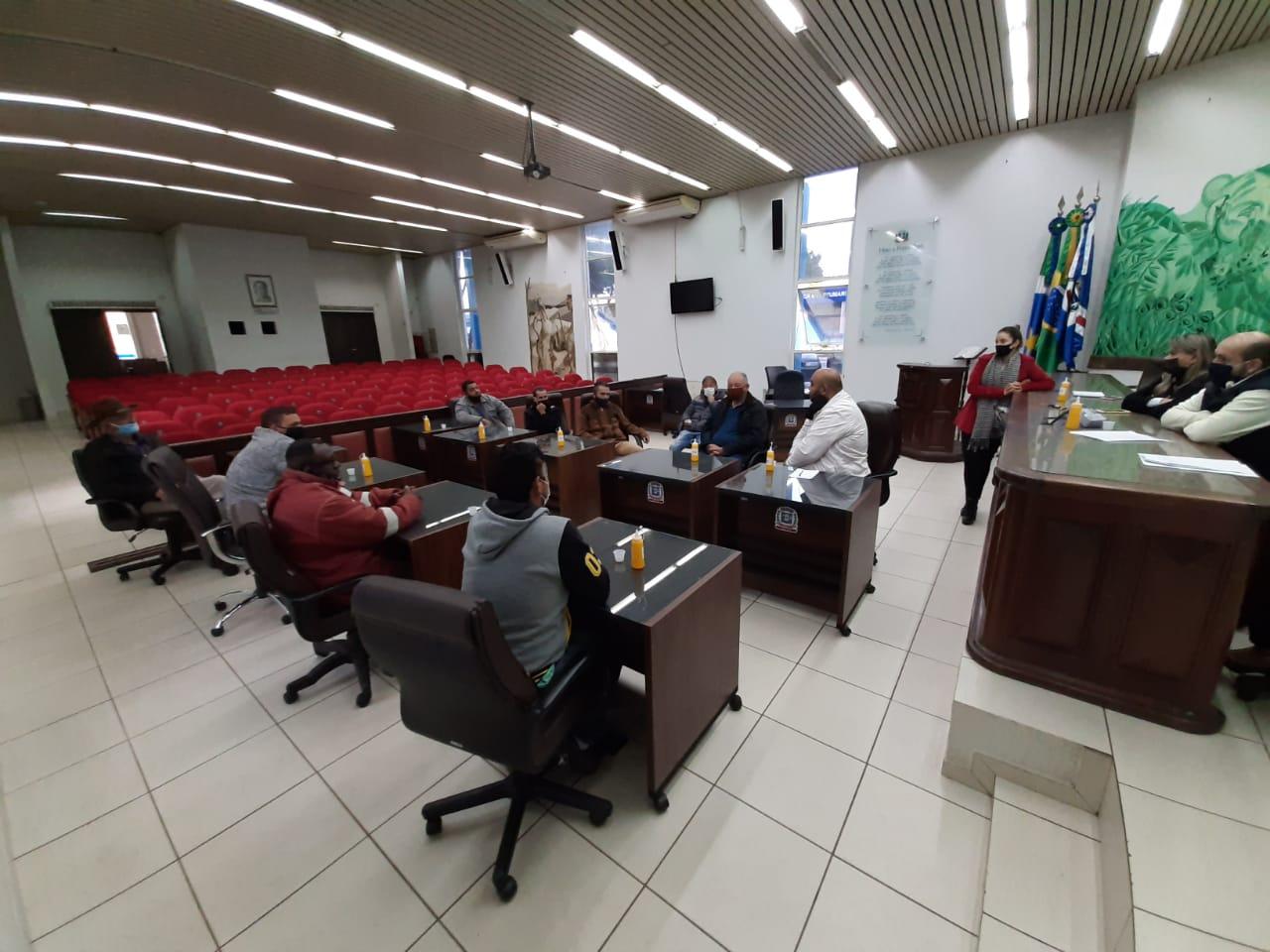 Vereadores de Ponta Porã atendem demanda dos motoristas da COOPERITA 22