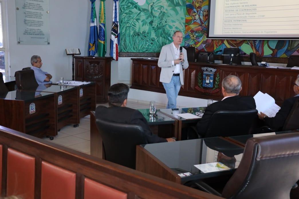 Câmara Municipal de Ponta Porã promoveu audiência pública de prestação de contas