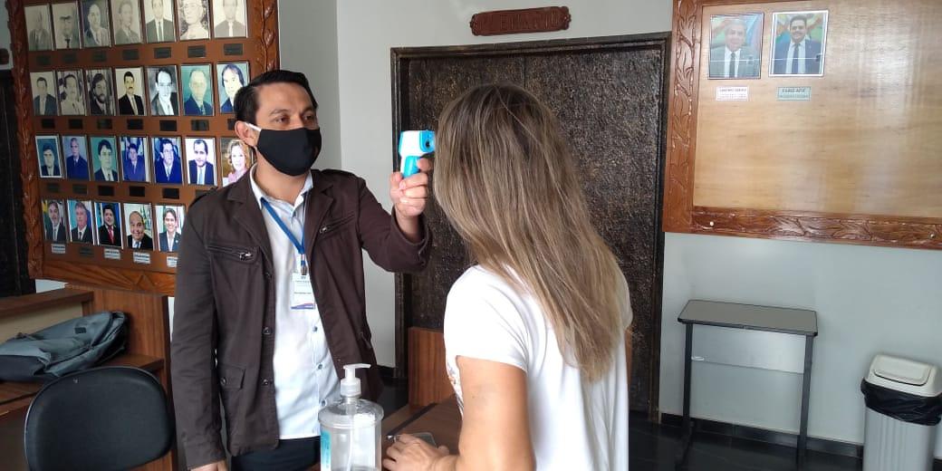 Câmara de Ponta Porã mantém medidas para prevenção da covid-19