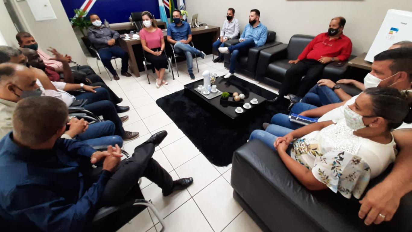 Vereadores de Ponta Porã se reúnem com diretoria do Conselho de Pastores
