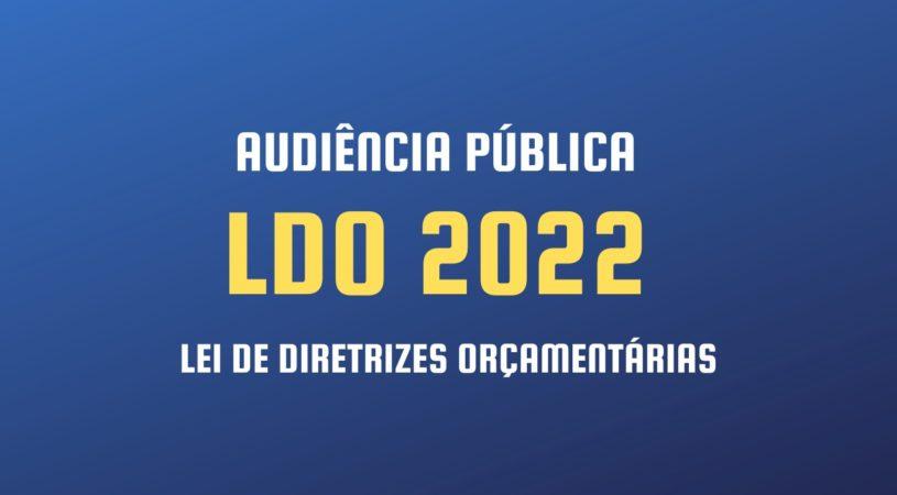 Vereadores vão promover audiência pública para debater LDO