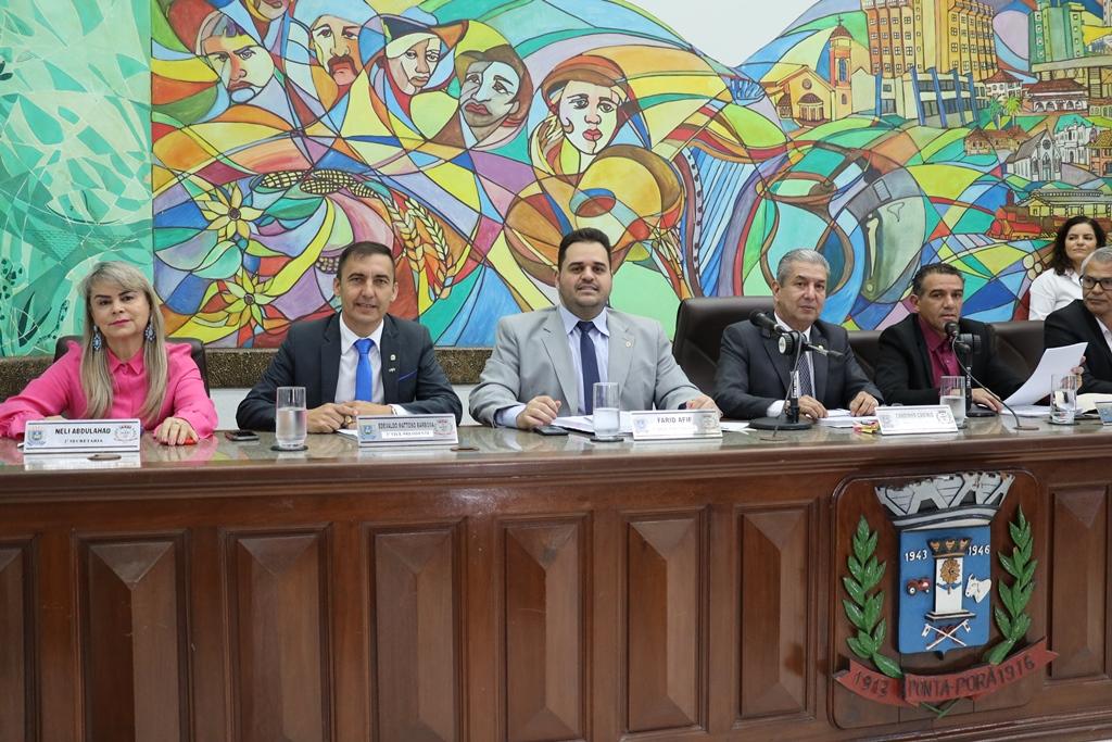 Vereadores de Ponta Porã aprovam sessão solene alusiva aos 100 anos do 11º RC MEC
