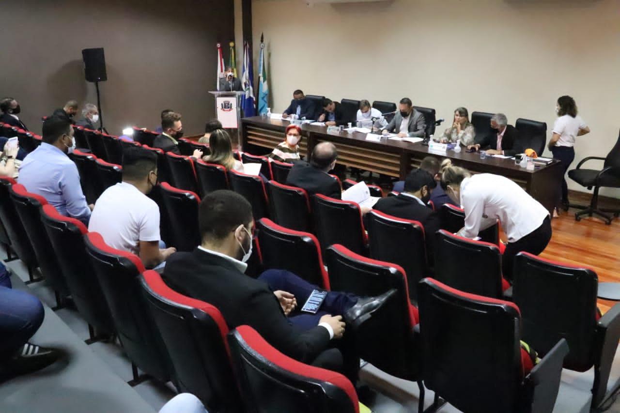 Homenagens a Rony Lino marcam sessão da Câmara Municipal de Ponta Porã