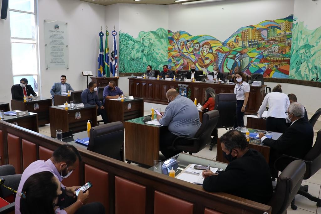 Vereadores iniciaram votação do Orçamento Municipal para o ano de 2021
