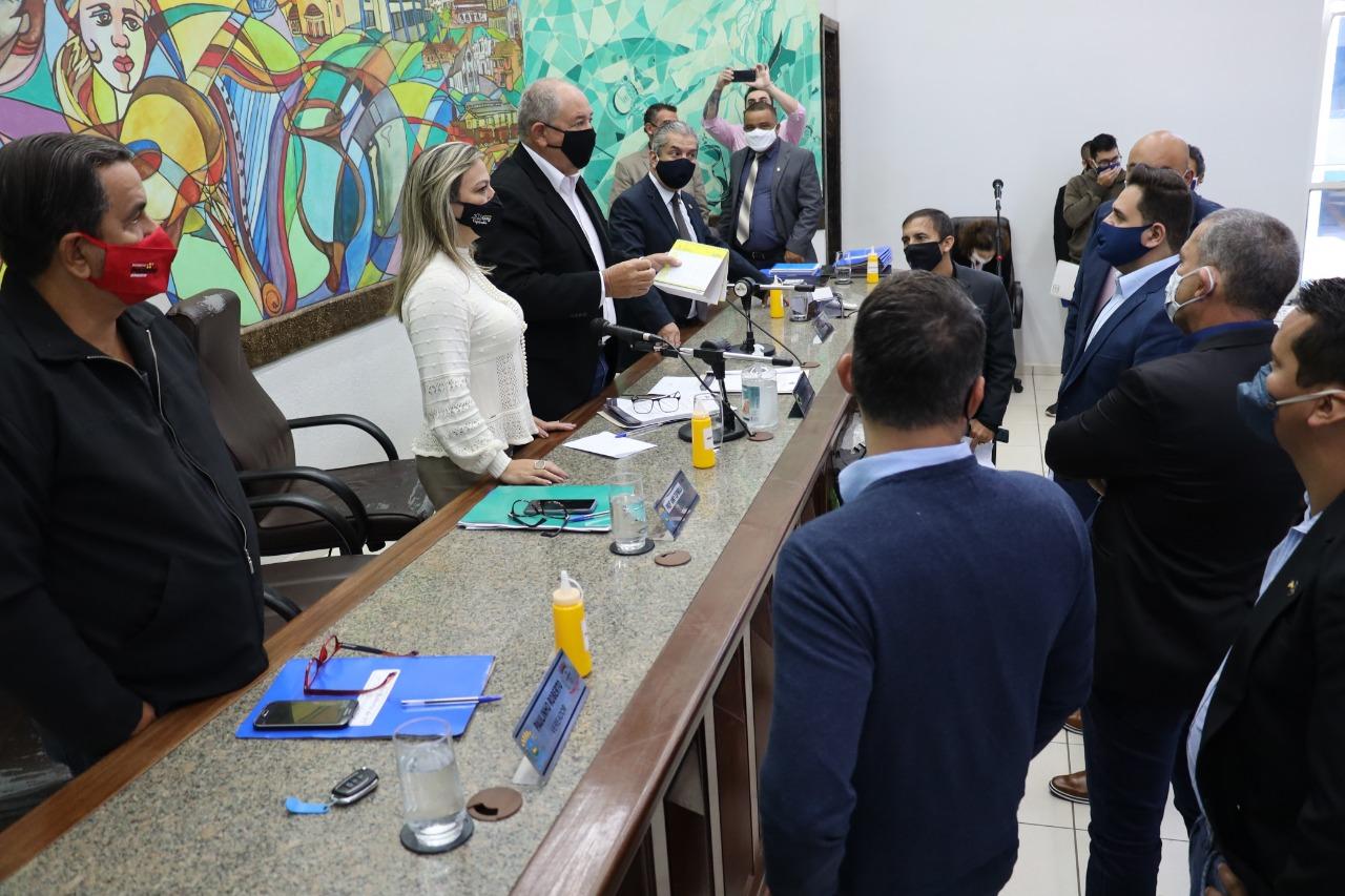 Vereadores destacam sucesso de parceria que viabilizou muitas obras para Ponta Porã